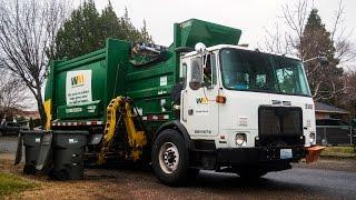 autocar acx mcneilus autoreach garbage truck