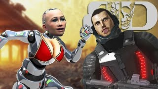 HOT BOTS - Binary Domain Gameplay Part 2
