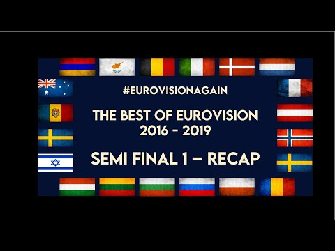 The Best Of Eurovision 2016 - 2019 - Semi Final 1 - ONLINE VOTING OPEN