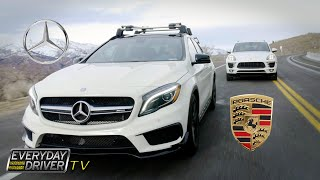 GLA 45 AMG & Macan S w Jeep GC - What are these? - Everyday Driver TV Episode