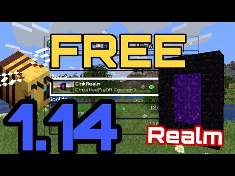 How To Get Realms In 1.14 For FREE!! 😱