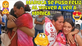 🔴EMOTIVO REENCUENTRO DE MONICA Y MARUCA TE HARÁ LLORAR🔴 JULITO AUN NO PERDONA A MONICA😱 Part 2