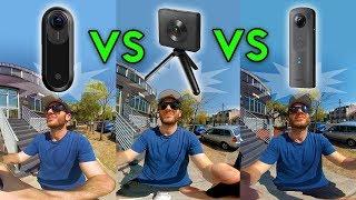 Insta360 One vs Theta V vs Xiaomi - Video Comparison (4k)