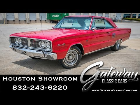 1966 Dodge Coronet 500 Gateway Classic Cars #1542 Houston Showroom