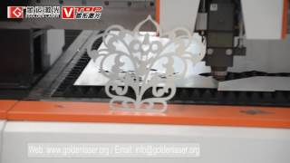 IPG / N-light 1000w Fiber Laser Cutting Machine For 1.5mm SS sheet And 6mm Carbon Steel Sheet