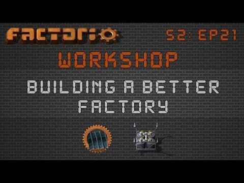 Solar Builds / Designs :: Factorio Workshop Season 2 - Building A Better Factory