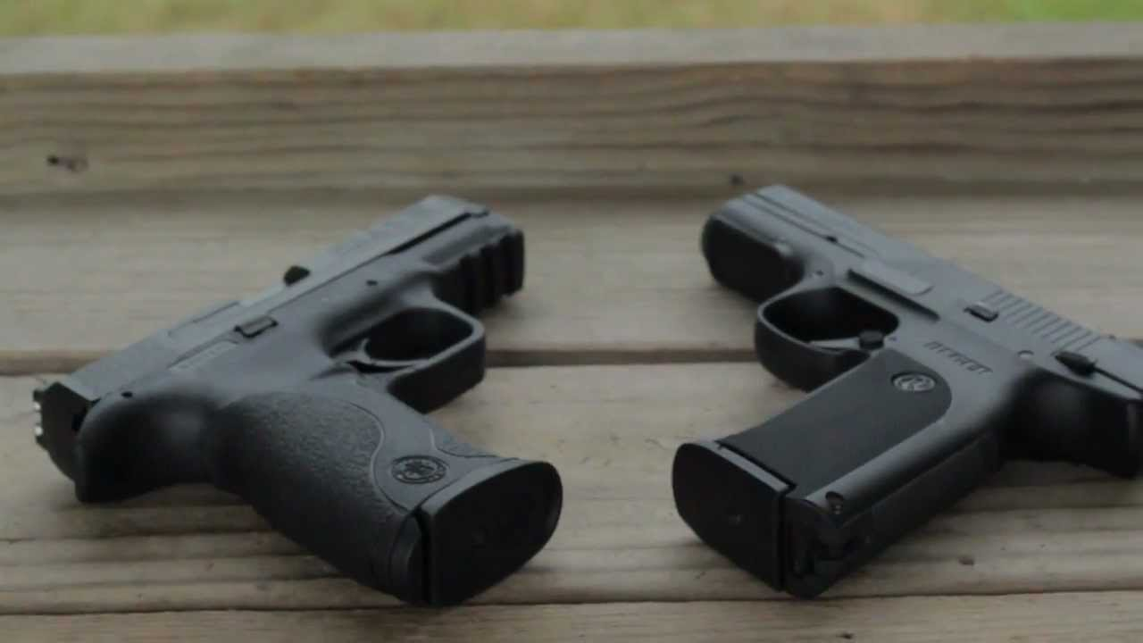 Mrcolionnoir S Ruger Sr9 Vs M Amp P Shooting Review