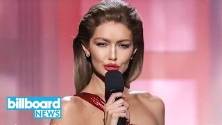 Gigi Hadid Apologizes for Melania Trump Impression During American Music Awards | Billboard News
