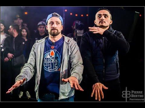 Marsh'canes - Le Meilleur Duo Battle Rap - 2016