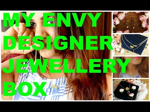 My April  Envy Designer Jewelery Box Unboxing