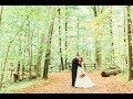 Fall Forest Wedding at Kortright Centre: Taylor + Robinson