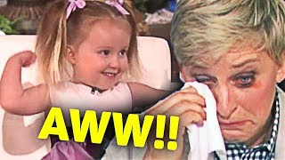 Download This Kid Made Ellen Cry... After She... Mp3 and Videos