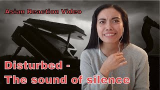 THE SOUND OF SILENCE by DISTURBED reaction video WITH LYRICS  Asian Reaction Videos