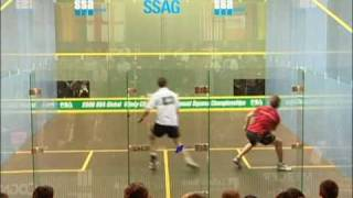 Squash - David Palmer vs Jonathon Power Windy City Open 2006