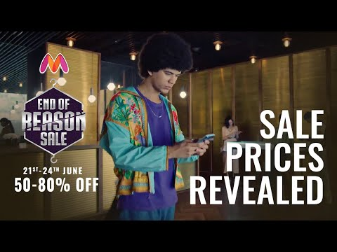 The Biggest Fashion Sale Is Here - Myntra EORS