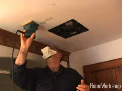 Remove bathroom mould from your ceiling