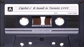 Capital J  @ Numb in Toronto 1999