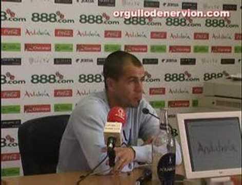 Sevilla FC - Rueda de prensa de Duda - 0612