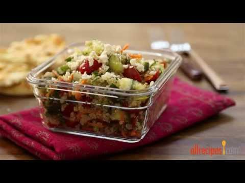 How to Make Quinoa Tabbouleh | Salad Recipes | Allrecipes.com