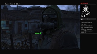 FALLOUT 4 PART 2 STREAM SERIES!!!!