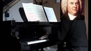BACH Prélude mi bémol mineur 1er livre BWV 853