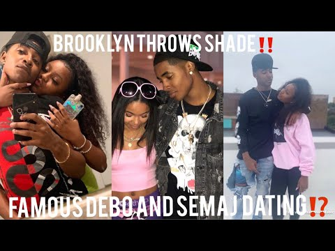 #FAMOUSDEBO AND #SEMAJLESLEY DATING⁉️ #BROOKLYNQUEEN SPEAKS‼️