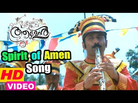 Amen movie scenes | Spirit of Amen song | Fahadh wins the competition | Kalabhavan Mani demise