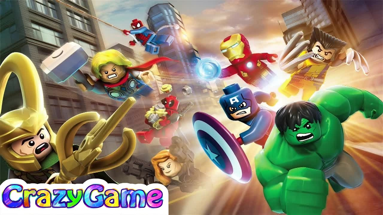 Lego Marvel Super Heroes Full Game Best Game For Children Youtube