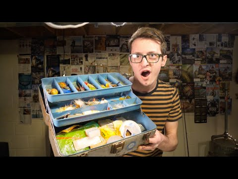 I Bought A Vintage Tackle Box Full Of Lures Off EBay!
