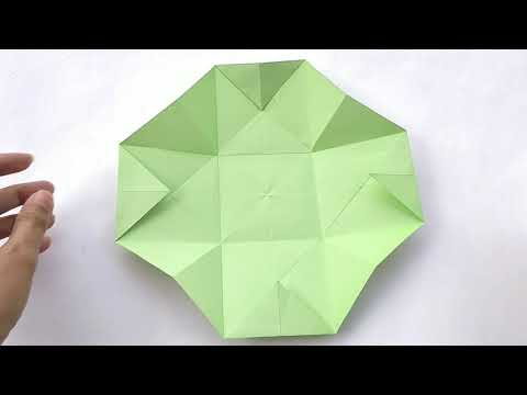How To Make Gift Box Out Of Paper - Very Easy