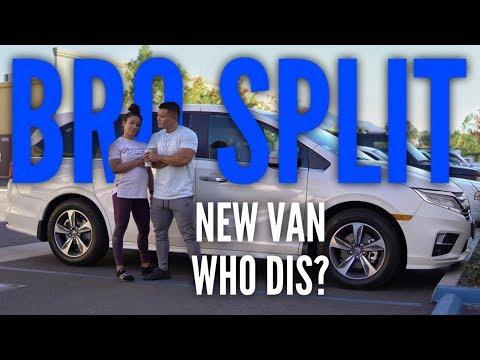 Bro Split Day 1 | Van Life | Shocking The Muscle