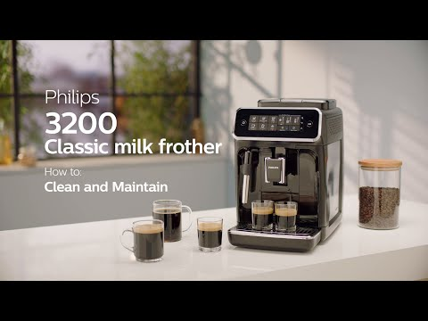 Philips Series 3200 EP3221/40 Automatic Coffee Machine - How to Clean and Maintain