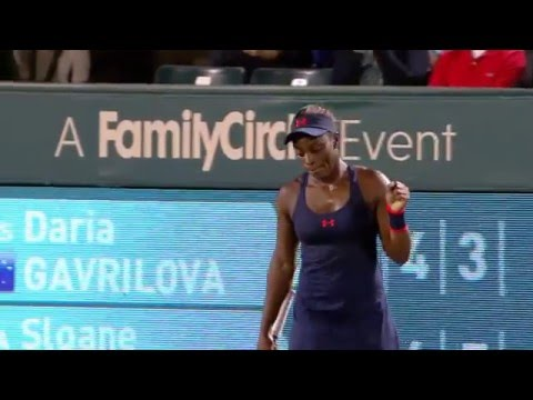 2016 Volvo Car Open Third Round | Daria Gavrilova vs Sloane Stephens | WTA Highlights