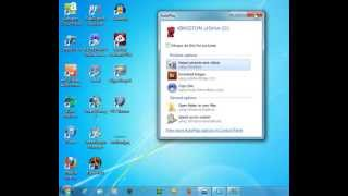Using USB flash drives to move files to and from your PC
