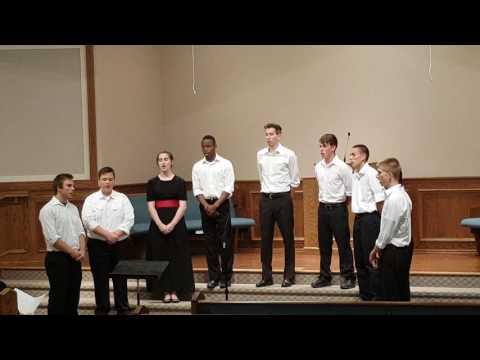 Shepherd of Love - Men's Octet plus a lady tenor - Hartville Christian School