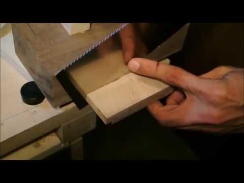 Grundlagen Holzbearbeitung: Exakt Ablängen und Sägen - Werken Tutorial