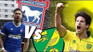 '95TH MINUTE GOAL TO DENY US THE WIN' - NORWICH CITY VS IPSWICH TOWN