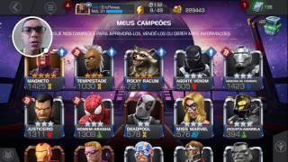 Dicas Para Upar Seus Heróis - Marvel Torneio de Campeões