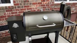 Pit Boss 820 Deluxe Pellet Grill On Cart 72820 Bbq Guys