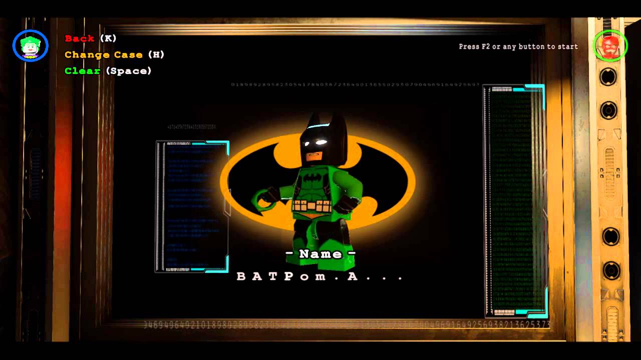 Creating Custom Characters Gameplay Lego Batman 3 Beyond Gotham Youtube