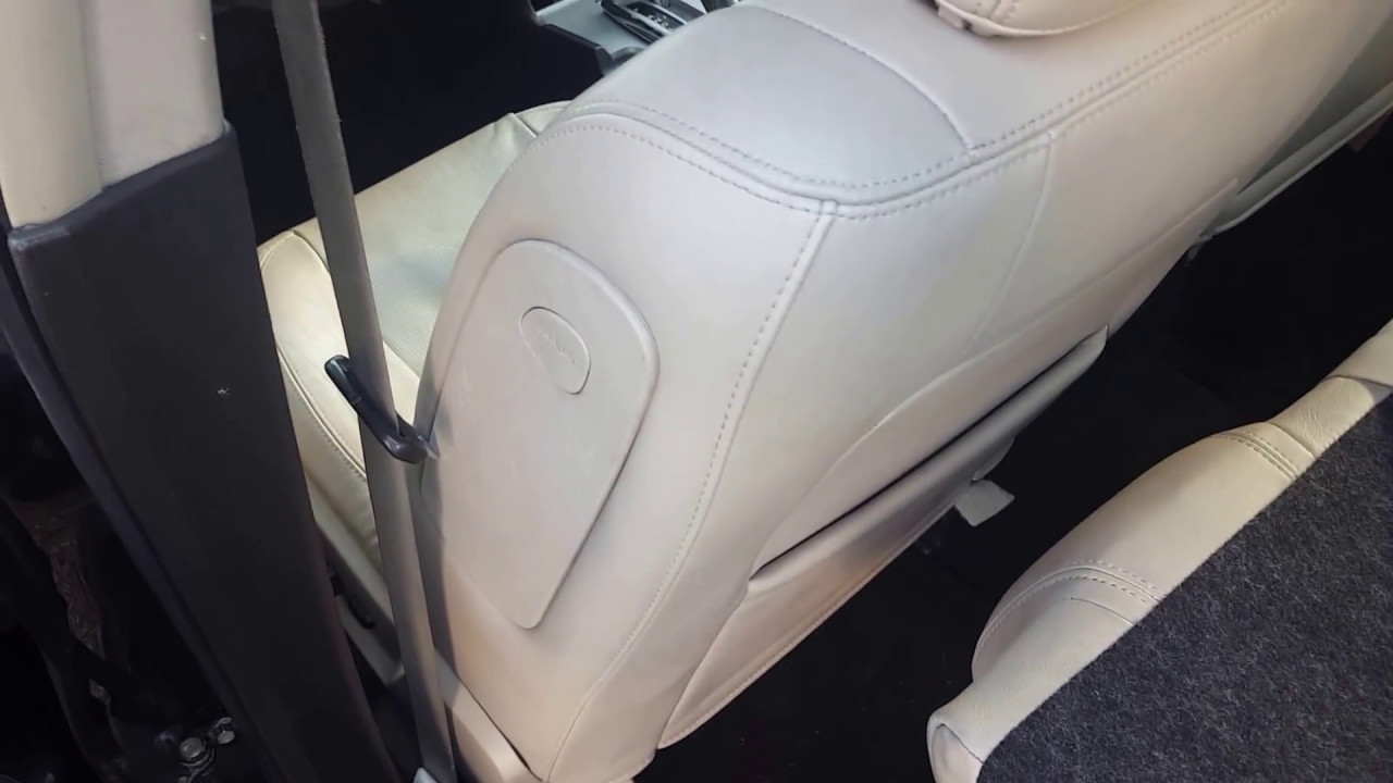 How to remove the seat 7