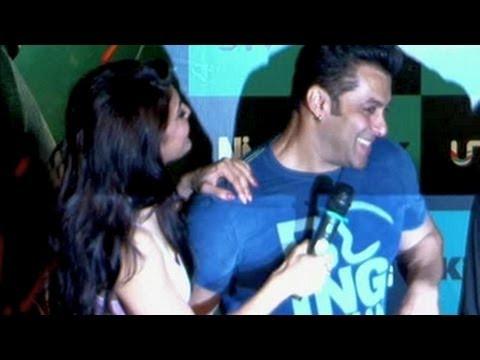 Salman Khan gets COZY with Jacqueline Fernandez at Jumme Ki Raat SONG LAUNCH