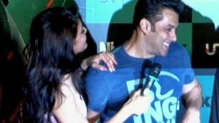Salman Khan gets COZY with Jacqueline Fernandez at Jumme Ki Raat SONG LAUNCH