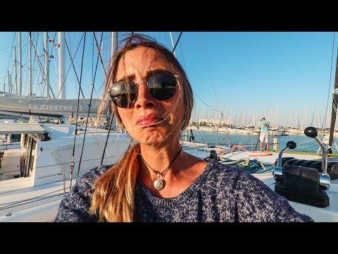 I Crashed our Boat in the Marina, Way to Make an Entrance! (Sailing La Vagabonde) Ep. 101