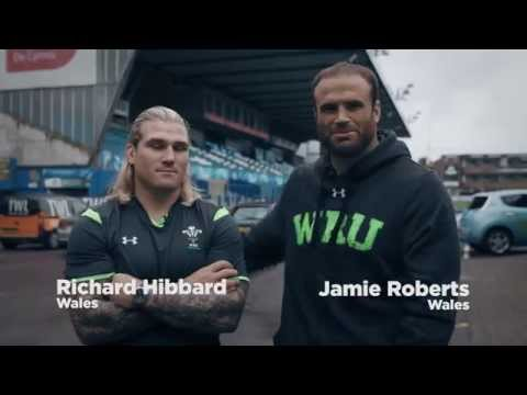 Dove Men+Care Surprise Local Clubs With The Help Of Welsh Players | WRU TV