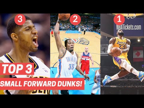 Top 3 Dunks From Small Forwards Every Year! (2010-2020)