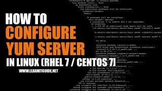 How to configure Yum Server on (CentOS0-7) in Linux