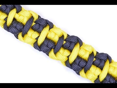 """How to Make """"The Cabbie"""" Paracord Survival Bracelet - Bored Paracord"""