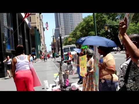 FPA-Fostercare Awareness Rally at Council member's office in manhattan