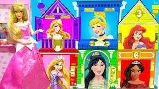 Sleepy Beauty Aurora Disney Princesses Classic Costume Dollhouse Cosplay Best Dress Up and Matching